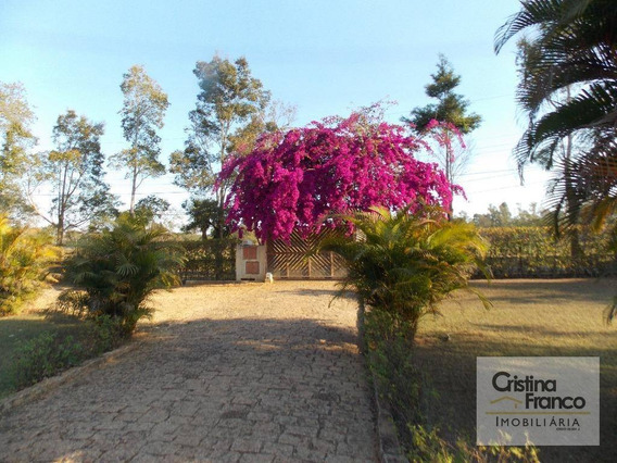 Casa Com 4 Dormitórios À Venda, 550 M² Por R$ 950.000 - Condomínio Chácaras Carolina - Itu/sp - Ca2098
