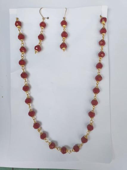 Gran Oferta Collar Cristal Cortado Istmo