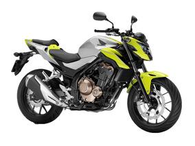 Nueva Cb 500f Honda 2018 0 Km Amarilla Verde Moto Sur