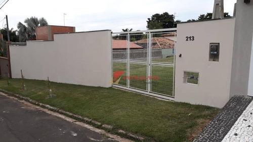 Chácara Com 3 Dormitórios À Venda, 1000 M² Por R$ 790.000,00 - Condomínio Colinas De Piracicaba - Piracicaba/sp - Ch0071