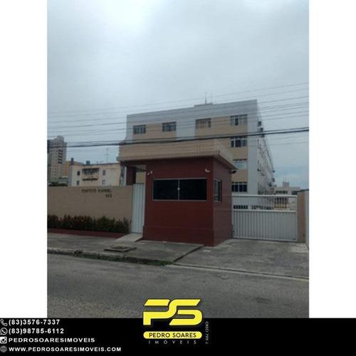 Apartamento Com 3 Dormitórios Para Alugar, 85 M² Por R$ 2.500/mês - Manaíra - João Pessoa/pb - Ap4664