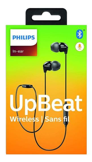 Fone De Ouvido Bluetooth Corrida Caminhada Preto Philips