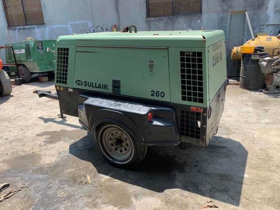 Compresor Sullair 260cfm Diesel