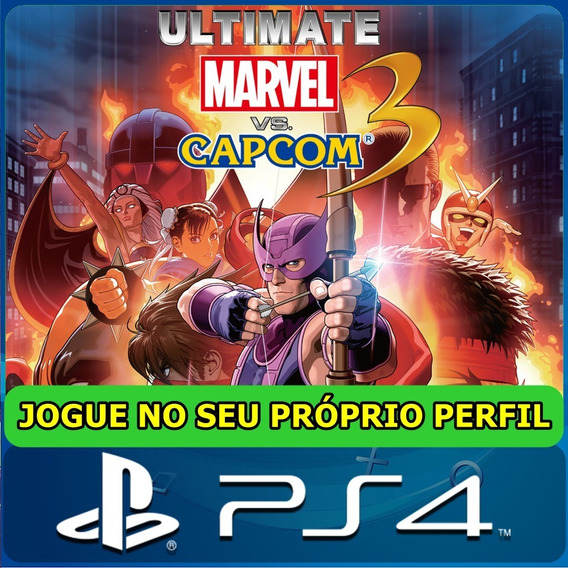 Ultimate Marvel Vs. Capcom 3 Ps4 Digital Psn Original