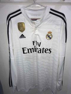 Camiseta Manga Larga Del Real Madrid 2014 3 Pepe