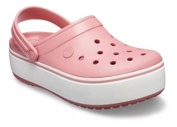 Crocs Crocband Platform Clog Dama