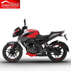 Moto Pulsar Ns200 Año 2018 200cc Color Rojo-negro