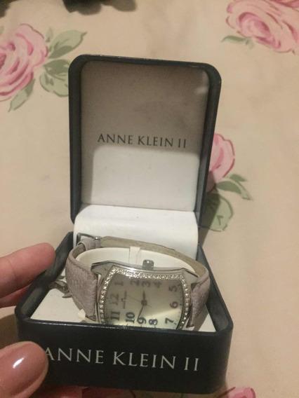 Relógio Anne Klein Lilás Detalhes Strass