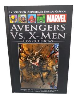 Novelas Gráficas De Marvel Nº 130 Avengers Vs X Men