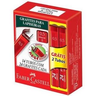 Grafite 0.5mm B 24 Unidades Caixa Com 12 Tubos Faber Castell