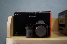 Câmera Sony A7s Completa Com Carregador E Três Baterias