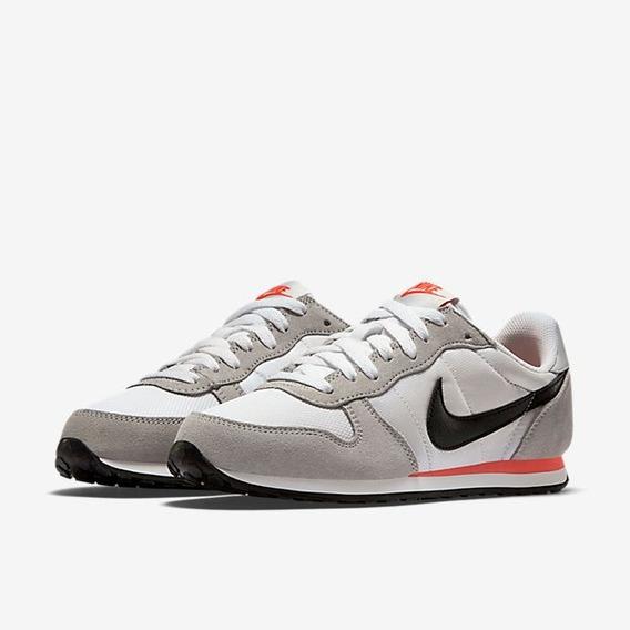 Tênis Feminino Nike Genicco Cinza E Preto Original