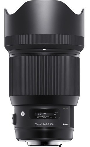 Lente Sigma 85mm F/1.4 Dg Hsm Série Art Autofoco Nikon Nfe