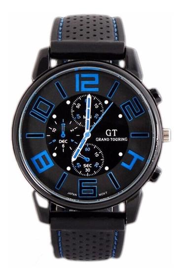 Relógio Homens Social Pulseira Silicone Bonito Ótimo Preço