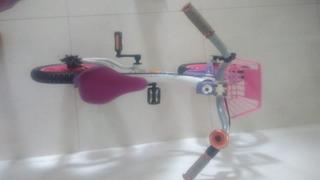 Bicicleta Aluminio Aro 14 Freio A Disco