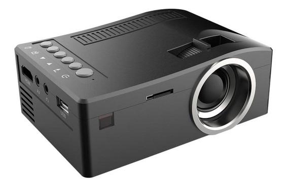 Uc18 Lcd Projetor Led Mini Portátil 1080p Home Theater