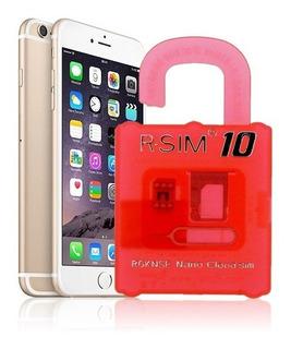 R-sim 10 Para iPhone 4s, 5, 5c, 5s, 6 Unlocking Sim, Ios 8