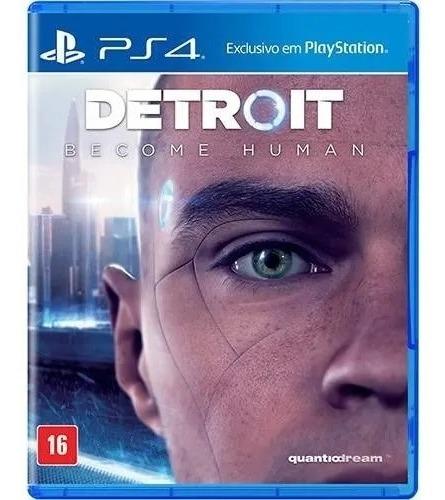 Detroit Become Human Ps4 Midia Fisica Lacrado 100% Português