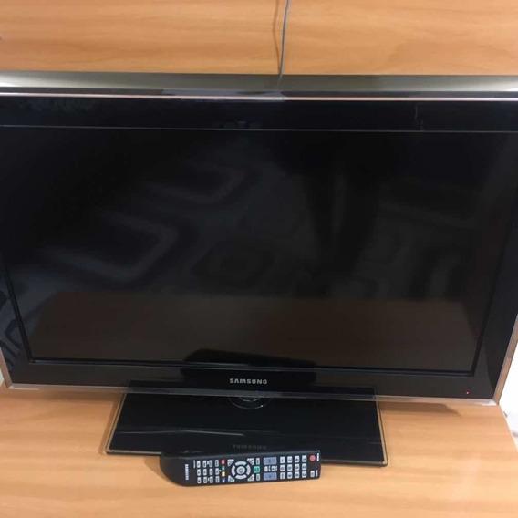 Tv Lcd Samsung 32 C/ Defeito Na Tela P/ Retirar Em Itaquá-sp