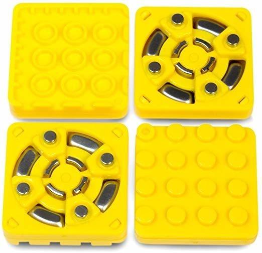 Modular Robotics Cubelets Brick Adapter (4-pack), Yellow