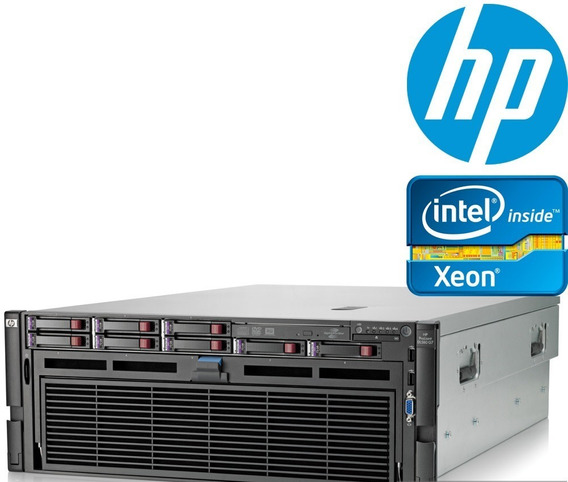 Servidor Hp Proliant Dl580 G7 4x Xeon X7560 64gb 2 Sas 300