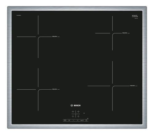 Imagen 1 de 3 de Anafe eléctrico Bosch Serie 4 PUE645BB1E negro 220V - 240V