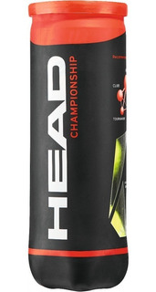 Tubo Head Championship X4 Balls Pelotas Tenis All Court