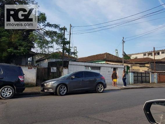Terreno À Venda, 592 M² Por R$ 1.400.000 - Estuário - Santos/sp - Te0097