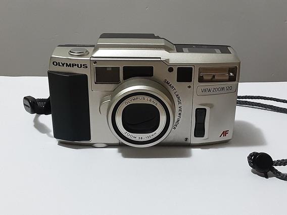 Câmera Antiga Olympus View Zoom 120