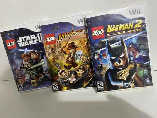 Jogos Lego Wii Originais Mídia ( Física )