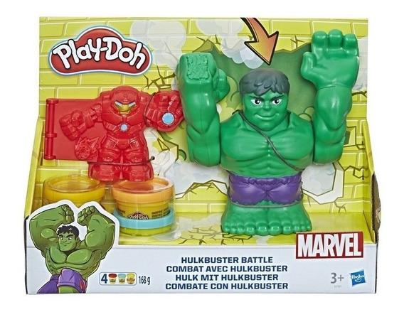 Play Doh Combate Com Hulkbuster E1951 - Hasbro