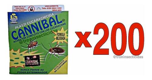 Imagen 1 de 4 de Cucarachida Cannibal - Original 80 Grs - 200 Piezas Y Envío