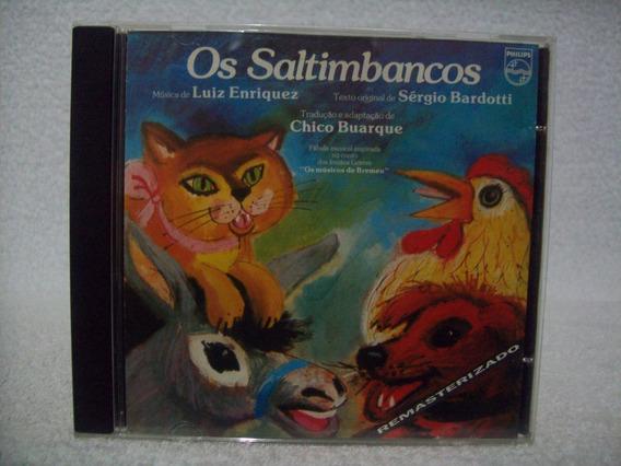 Cd Original Os Saltimbancos- De Chico Buarque