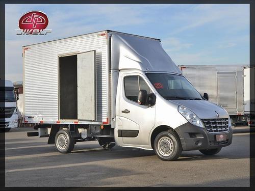 Imagem 1 de 15 de Van De Carga Renault Master 2.3 Baú