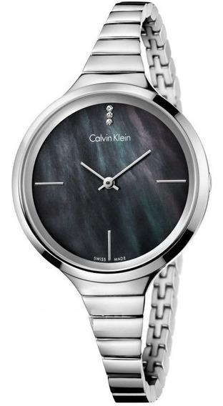 Reloj Original Dama Marca Calvin Klein Modelo K4u2312s