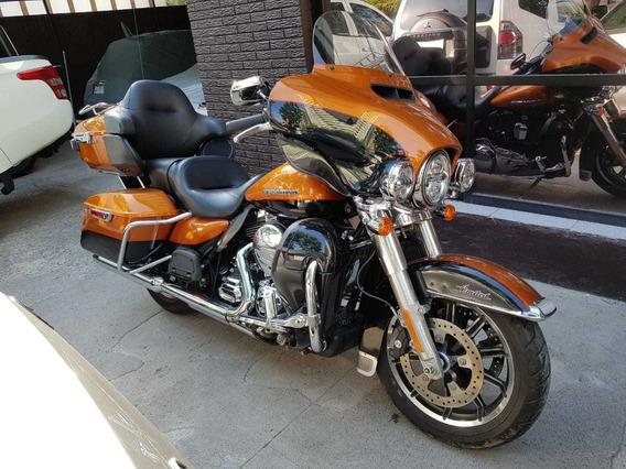 Harley Davidson Ultra Limited Flhtk 1700 Cc - 2015