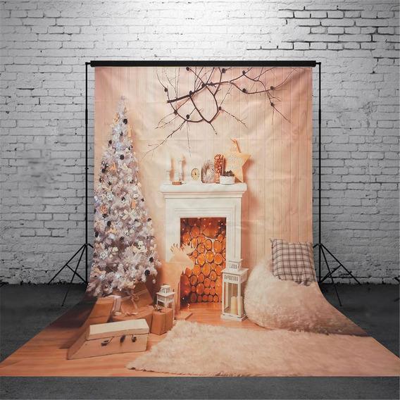 Cenários De Foto 5x7ft Vinil Bonito Natal Desenho Fotografia