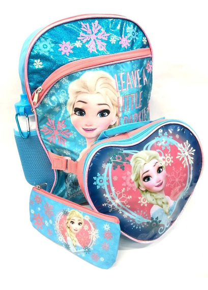 Mochila Elza Frozen Original Envio Gratis