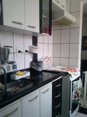 Apartamento Com 2 Dormitórios - Jardim Altos De Itaquá - Itaquaquecetuba/sp - Ap0730