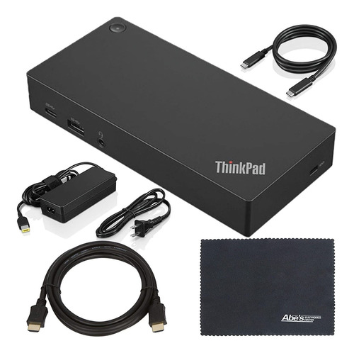 Lenovo Thinkpad (40as0090us) Usb Type-c Dock Gen 2 + Cable H