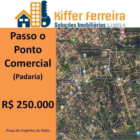 Passo O Ponto,100 M² Por R$ 250.000 - Engenho Do Mato - Niterói/rj - Lo0105