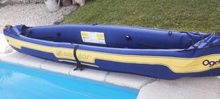 Kayak Canoa Inflable Ogden Sevylor Completa 2 Personas