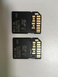 Tarjeta De Memoria Panasonic Micro P2 64 Gb