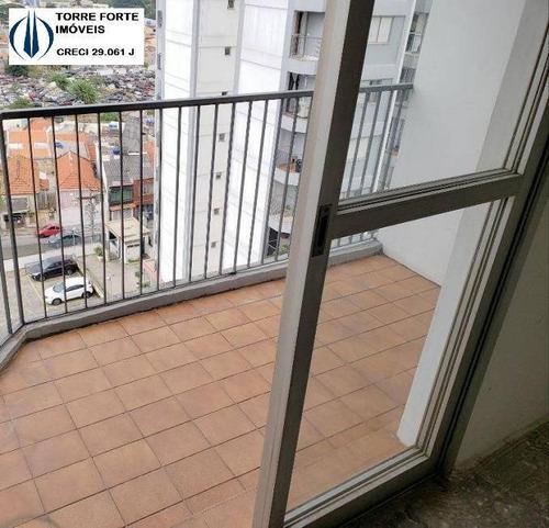 Imagem 1 de 15 de Apartamento Com 3 Dormitórios, 1 Suíte E 1 Vaga Na Penha - 2407