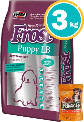 Ración Perro Frost Cachorro Raza Gde + Obsequio Y E. Gratis