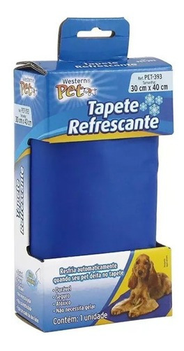 Tapete Refrescante Gelado Para Cachorro Gato Cão 30cm X 40cm