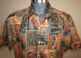 Oferta !!!! Cooke Street Camisa Hawaiiana Talla Mediana