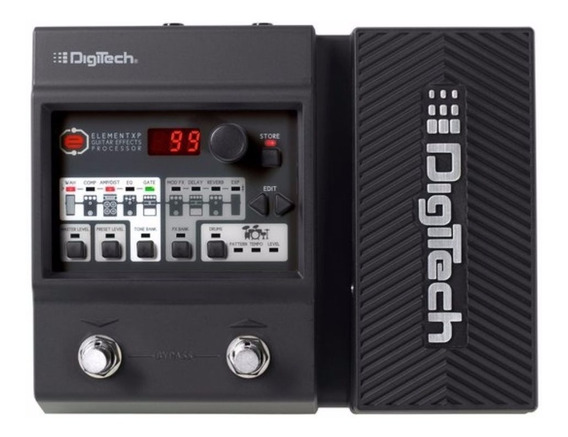 Pedaleira Digitech Element Xp Guitarra + Fonte Rp90 / Loja