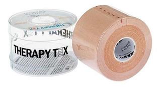 Bandagem Elástica Adesiva (5m X 5cm) Therapy Tex - Bege