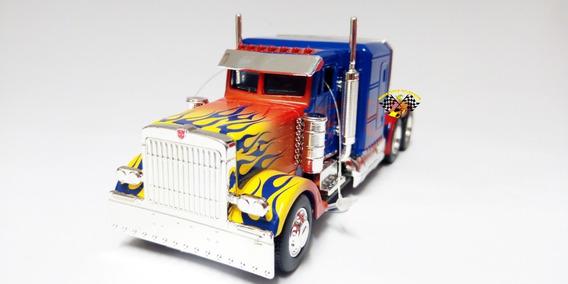 Miniatura Optimus Prime Transformers T1 Jada 1/32